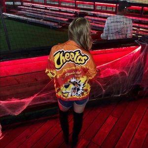 Forever 21 Flamin' Hot Cheetos Jacket